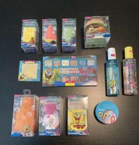 Wet N Wild SpongeBob SQUAREPANTS Complete Makeup Set of 12 Nickelodeon