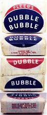 1950's Fleer Dubble Bubble Gum w/Comic Unopened Blue Wrapper Version (one piece)