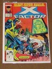 X-FACTOR ANNUAL #2 VF INHUMANS BLACK BOLT QUICKSILVER POWER PACK MAN IN THE MOON