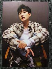 SUPER JUNIOR EUNHYUK Official Letter Card PHOTOCARD PLAY 8th Album Black Suit 은혁
