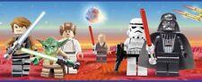Star Wars Bordüre SELBSKLEBEND Tapete Kinderzimmer Fototapete Sticker/ €2,00/m