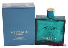 Versace Eros By Versace 6.7oz/200ml Edt Spray For Men New In Box