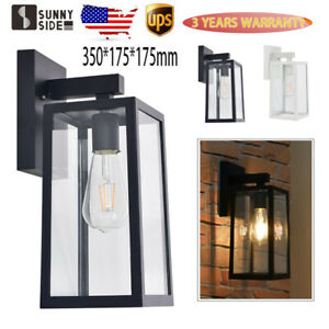 Outdoor Exterior Lantern Sconces Porch Light Antique Wall Lighting Lamp Fixture