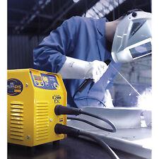Saldatrice elettrodo rutili ghisa inox GYSMI E200 FV MMA INVERTER 031210 GYS