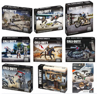 HUGE LOT OF MEGA CALL OF DUTY SPECIALIST FIGURE & WEAPONS SETS