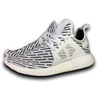 Adidas NMD XR1 Primeknit PK White/Black Zebra BB2911 Men's Size 13 Running Shoes