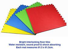 Eva Set of 4 Floor Mats Foam Tiles Interlocking Playmats Protective Flooring