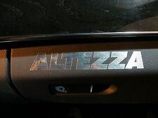 (2pcs) dashboard badge sticker decal Lexus IS300 *ALTEZZA*