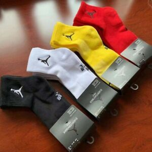 New Men's 3 Pairs Nike Air Jordan Everyday Max Ankle Socks One Size