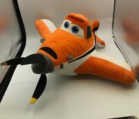 Disney Pixar Planes Dusty Crophopper Plush Kids Soft Stuffed Toy Orange Planes