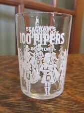 "VINTAGE,SEAGRAM'S ""100 PIPER'S"", SHOT GLASS"