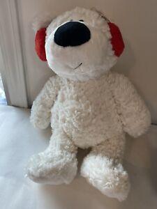 "GUND Blizzard Bear 16"" Plush White Stuffed Animal, brand new and clean"