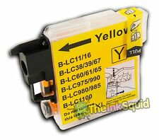 Yellow Ink Cartridge for Brother DCP-375CW DCP 375 CW