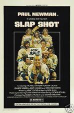 Slap shot 1977 Paul Newman movie poster print