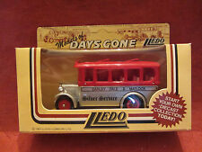LLEDO  Days-Gone  Albion Single Decker Coach  #10002 Silver Service  NIB  (1)