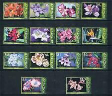 Bahamas 2006 Flowers 14v set SG 1425/38 MNH