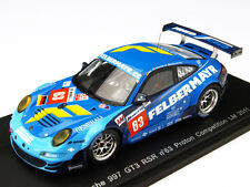 Spark S3421  Porsche 911 GT3 RSR #63, Reid 2011 Le Mans Felbermayr, Resin  1/43