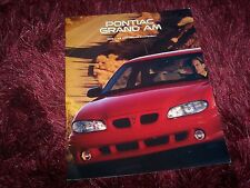 Catalogue / Brochure PONTIAC Grand Am 1996 USA //