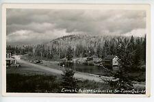 Camps a l'Auberge la Glaciere ST ZENON Rare Quebec RPPC Photo CPA 1930s