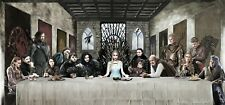 Game Of Thrones - Last Supper Top Fantasy Tv Show Art Poster / Canvas Pictures