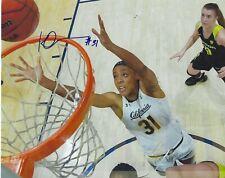 Kristine Anigwe Signed 8 x 10 Photo Wnba Basketball Connecticut Sun Cal Berkeley