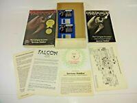 Vintage 1987 Amiga Falcon F-16 Fighter Jet Simulation by Spectrum Holobyte