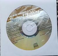 MERLE HAGGARD/MARTY ROBBINS KARAOKE CDG COUNTRY KARAOKE CLASSICS CKC #27 CD+G