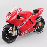 1:12 scale motogp Ducati Desmosedici GP8 No.33 Marco motorcycle diecast models