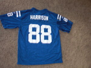 Indianapolis Colts MARVIN HARRISON Football Jersey youth Large Reebok