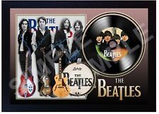 The Beatles Beatles For Sale MUSIC  SIGNED FRAMED PHOTO Print and Mini LP Vinyl