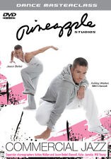 PINEAPPLE STUDIOS - DANCE MASTERCLASS - COMMERCIAL JAZZ - DVD - REGION 2 UK