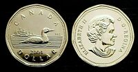 Canada 2004 UNC Proof Like Gem Loonie!!