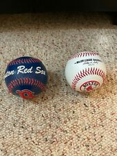 2 BOSTON RED SOX BASEBALLS