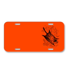 Animal Flying Mammal Squirrel On License Plate Car Front Add Names