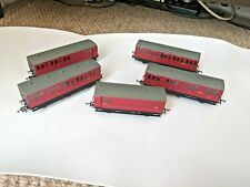 More details for 5x br hornby 6-wheel coaches with lights - oo gauge - r40123, r40124, and more