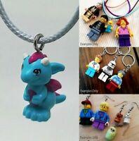 LEGO - x1 Blue Baby Dragon! Super Cute Jewellery! Elves- Customisable!