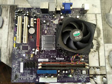 Placa Base motherboard MCP73VT-PM intel core duo 2,2ghz Socket 775 4GB RAM DDR2