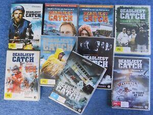 DEADLIEST CATCH COMPLETE SEASON 1 TO 7 + 10 11 DVD TV FISHING BERING SEA NORTHWE