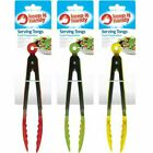 Kitchen Tongs Steel Stainless Serving Salad Food Bbq Cooking Tong Ice Utensil