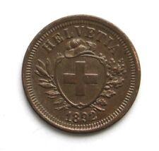 1 Rappen 1892, Schweiz