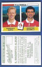 FIGURINA CALCIATORI PANINI 1994/95 - NUOVA/NEW N.503 SUPPA/IACOBELLI - PIACENZA