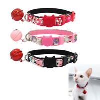 Cat Kitten Bell Collar Neck Strap Comfortable Safe Buckle Durable Pet Supplies