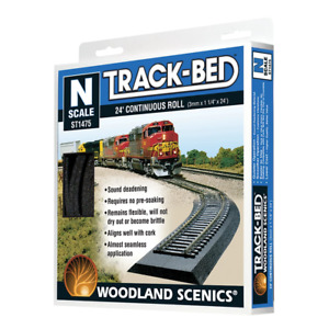 Woodland Scenics ST1475 N Track-Bed Roll 24'