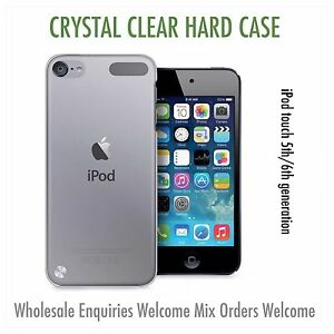 ipod touch 5th 6th 7th generation clear ultra thin hard case BUY 2 GET A 3rd FRE