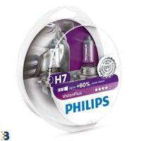 Philips VisionPlus H7 12V 55W Scheinwerferlampe 60% 12972VPS2 SET
