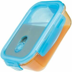 KitchenCraft KCGLSSTOR02 Pure Seal Airtight Leak Proof Glass Food Storage Contai