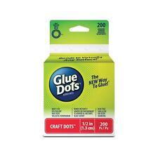 "BULK 5 of Glue Dots Adhesive Flat Craft Dots Roll 1/2"" wide 200 dots = 1000 dots"