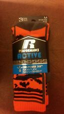 Russell Performance Active socks 3 pack medium shoe size 9 - 2.5