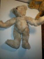 """Vintage Mohair Teddy humpback Bear Artist DEANNA BRITTSAN """" 5 way Jointed"""