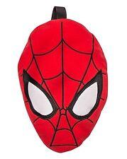 UFFICIALE SPIDER MAN Viaggio Coperta a forma di Spiderman Testa con maniglie di trasporto